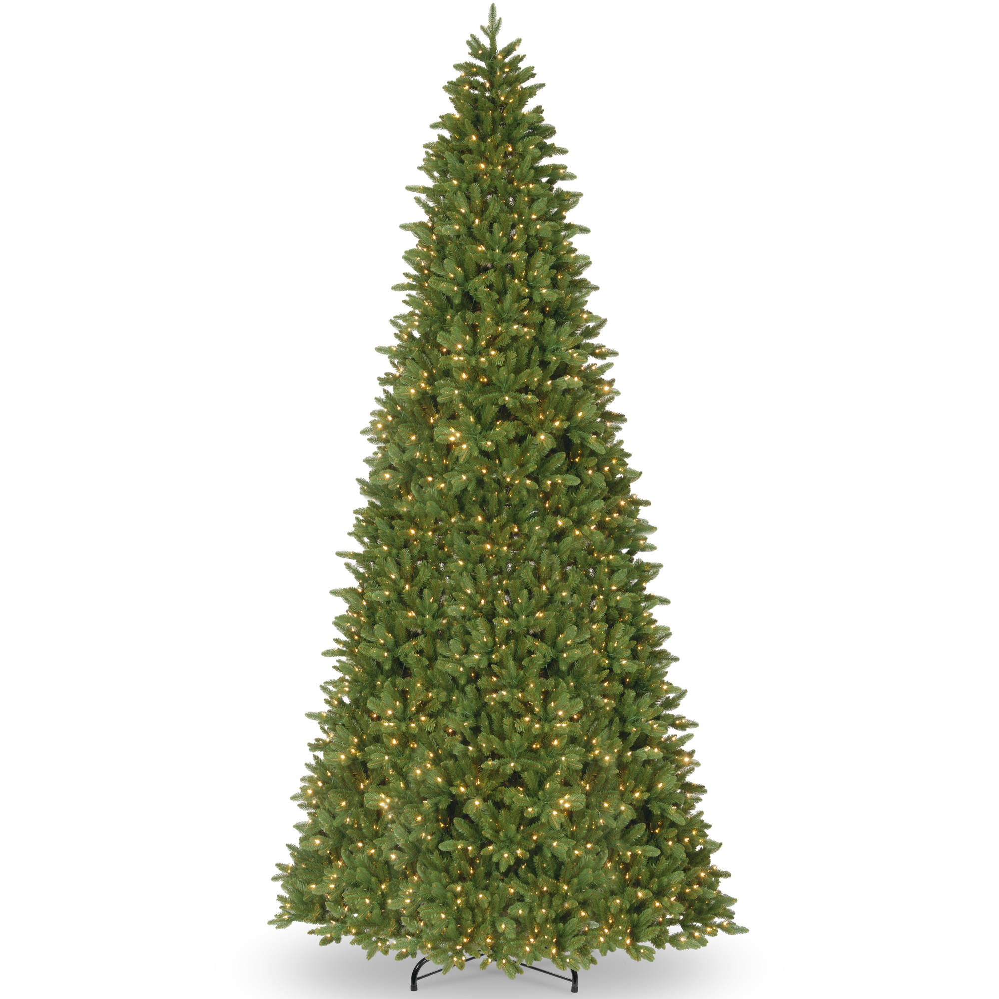 14' Ridgewood Spruce Slim Tree with Clear Lights