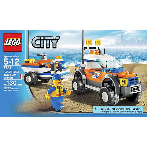 LEGO City - Off-Road Vehicle & Jet Scooter