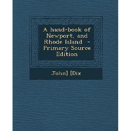 Hand-Book of Newport, and Rhode Island - Party Source Newport
