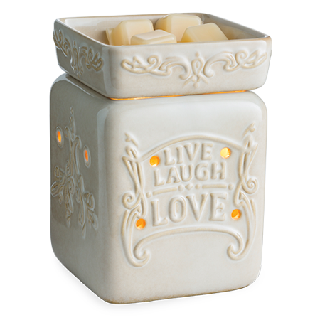 Live Well Illumination Fragrance Warmer by Candle Warmers Etc.