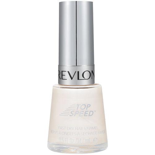 Revlon Top Speed Fast Dry Nail Enamel, 020 Sheer Pearl, 0.5 fl oz