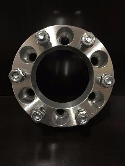 "Wheel Billet Adapters 6 Lug 6x139.7 ¦ 6x5.5 Chevy GMC Spacers 2/"""