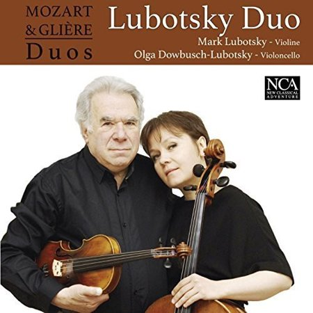 Lubotsky Duo - Mozart & Gliere Duos [CD] Multiple Duo Compact