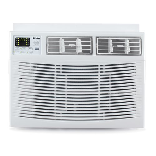 Della 8,000 Energy Star Window Air Conditioner with Remote