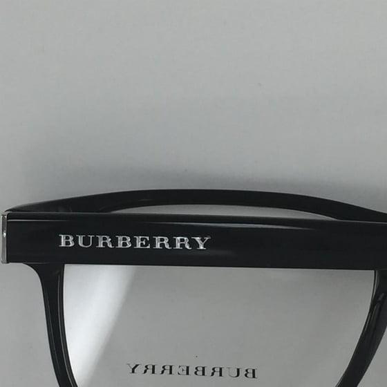 793d14efa36 Burberry B 2198 3001 Shiny Black Silver Metal Eyeglasses 53mm - Walmart.com