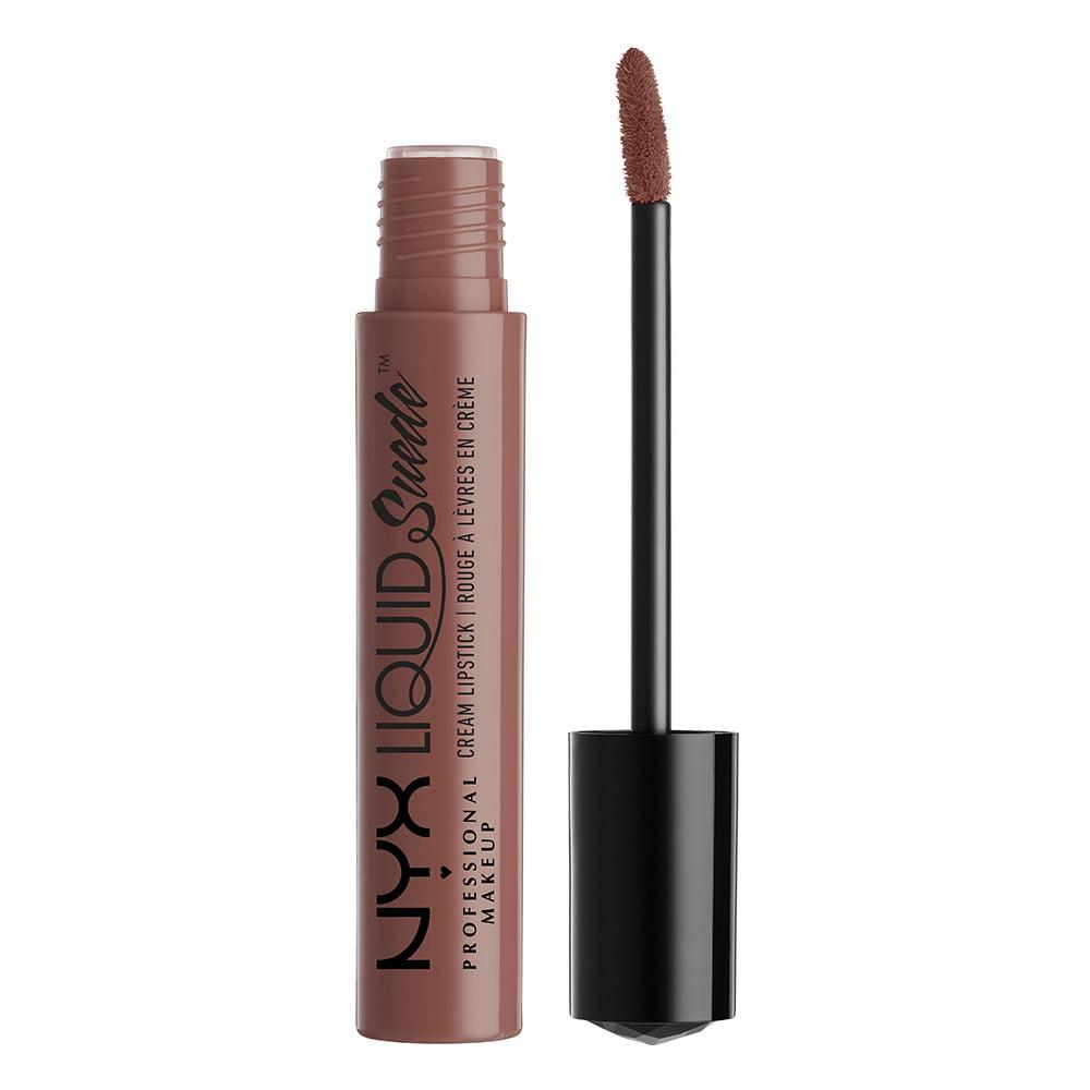 NYX Professional Makeup Liquid Suede Cream Lipstick, Brooklyn Thorn