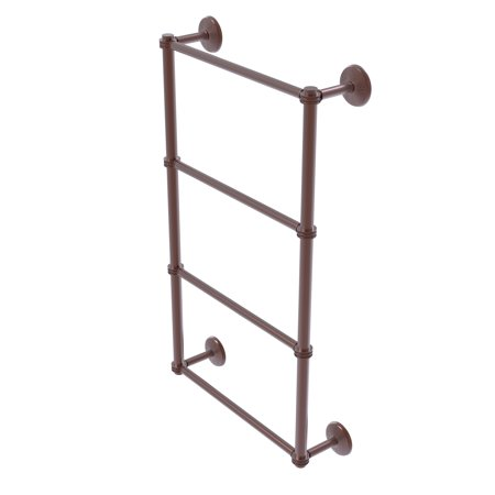 Monte Carlo Collection 4 Tier 30 Inch Ladder Towel Bar with Dotted Detail