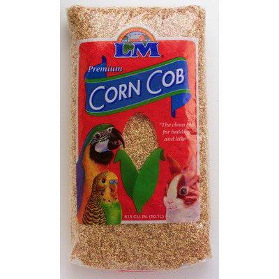 Premium Corn Cob Birds and Small Animal Bedding - 8 lbs Multi-Colored