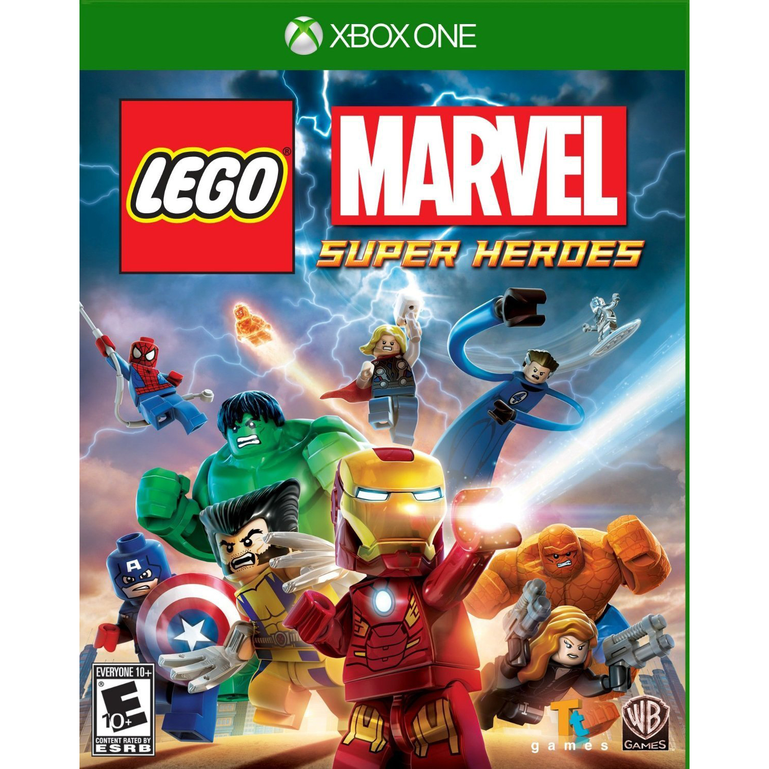 Lego Marvel Super Heroes - Microsoft Xbox One Video Game - New Sealed Disc