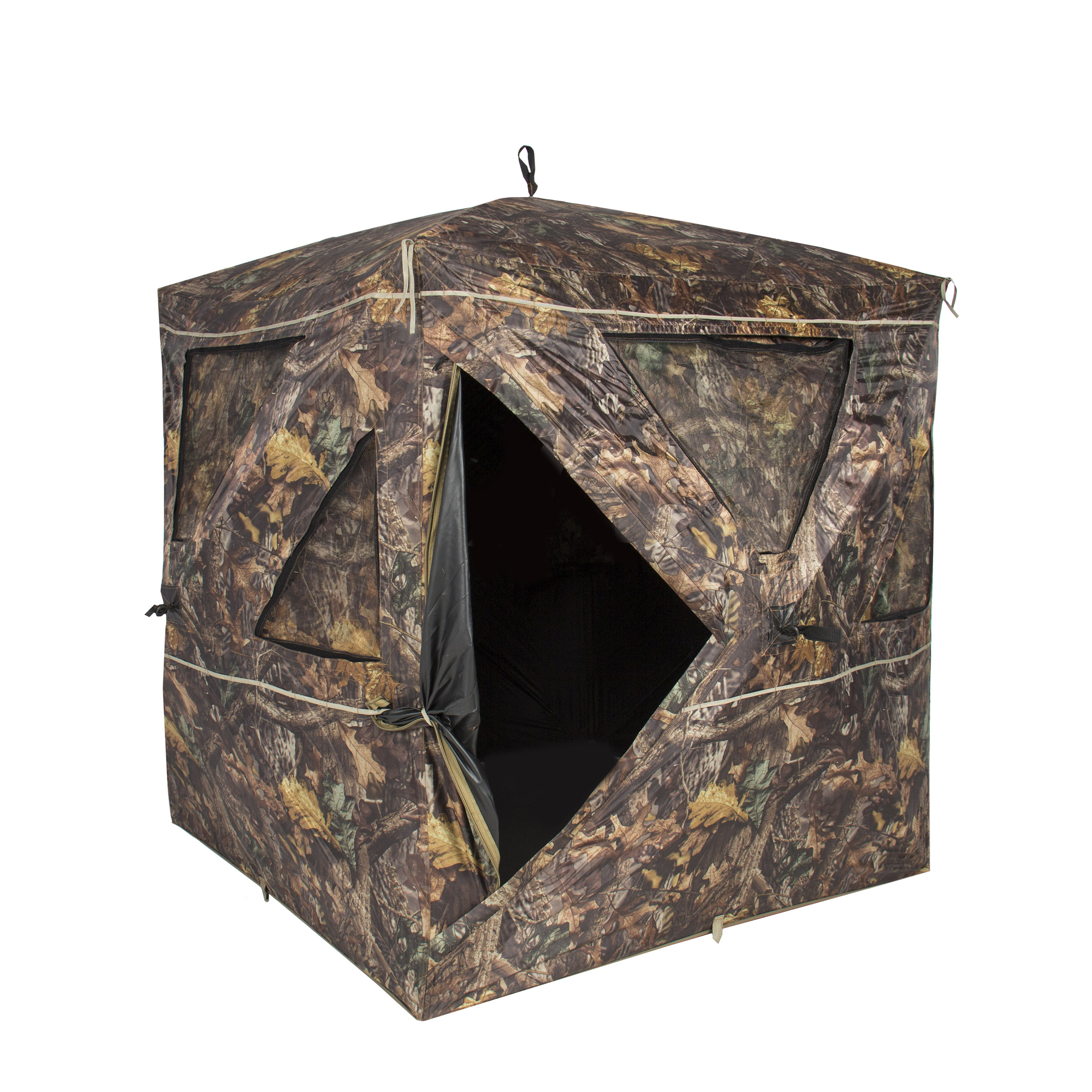 cherryland person co out electric blind op tricked blinds deer hunting