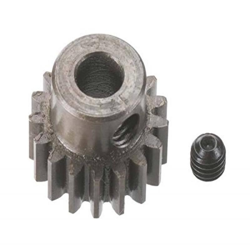 Robinson Racing Products 8717 Hard Bore 0.8 Module Pinion Gear, 17T, 5mm