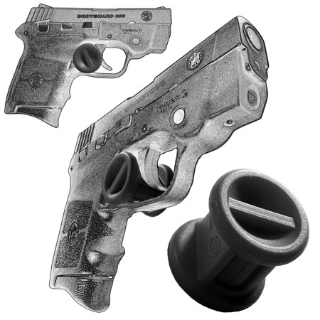 Garrison Grip ONE Micro Trigger Stop Holster Fits Smith & Wesson Bodyguard 380 & M&P 380 s20 Black
