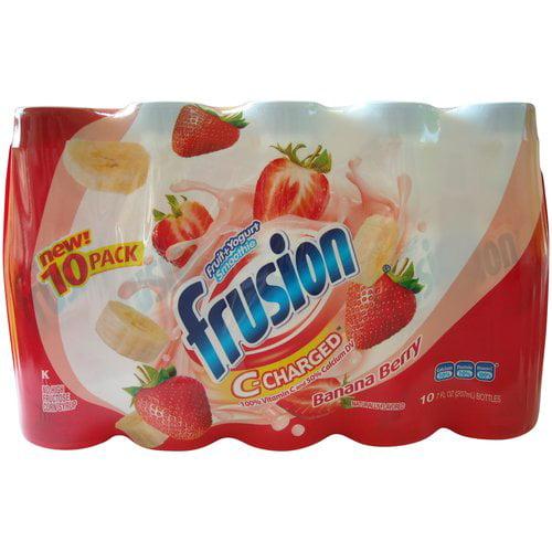LALA Frusion C-Charged Yogurt Smoothie, Banana Berry, 7-oz, 10 Count