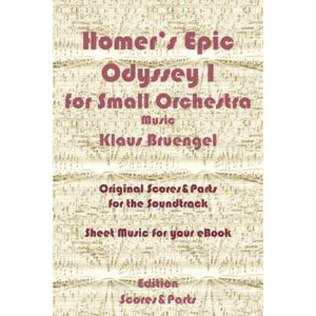 Homer's Epic Odyssey I for Small Orchestra Music - eBook - Epic Orchestra Halloween