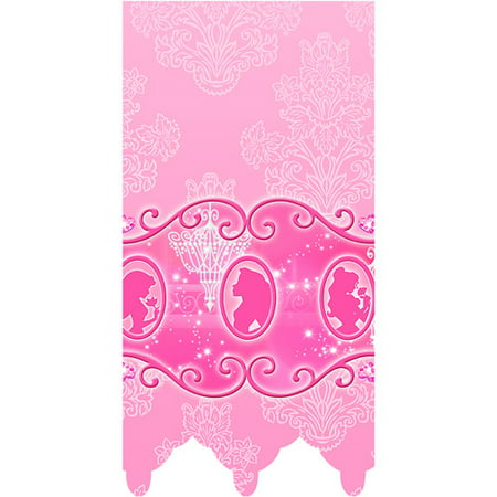 Mayflower Distributing 62380 PRINCESS DREAM PARTY -TABLECOVER (Disney Princess Table Cover)