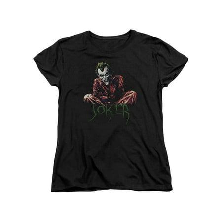 Asylum Straitjacket (Batman DC Comics Joker Arkham Asylum Straight Jacket Women's T-Shirt)