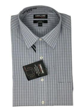 d99f5ad8a56 Product Image Kirkland Signature Men s Tailored Fit Non Iron Dress Shirt  Button Down XL 17.5 36 37
