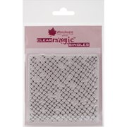 """Woodware Clear Stamps 3.5""""X3.5""""-Netting Background"""