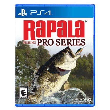 Rapala Pro Fishing, Game Mill, Playstation 4, (Best Ps4 Pro Games)