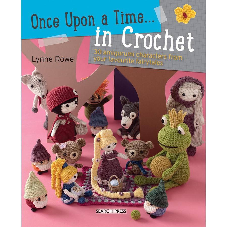 Search Press Books Once Upon A Time In Crochet