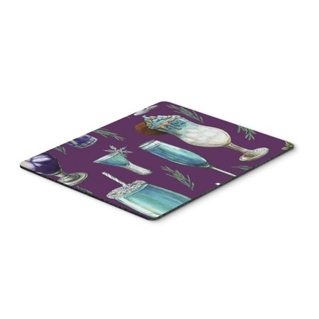 Image of Carolines Treasures BB5204MP Drinks & Cocktails Purple Mouse Pad, Hot Pad or Trivet