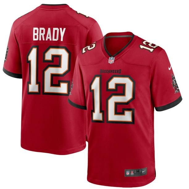 Tom Brady Tampa Bay Buccaneers Nike Game Jersey - Red