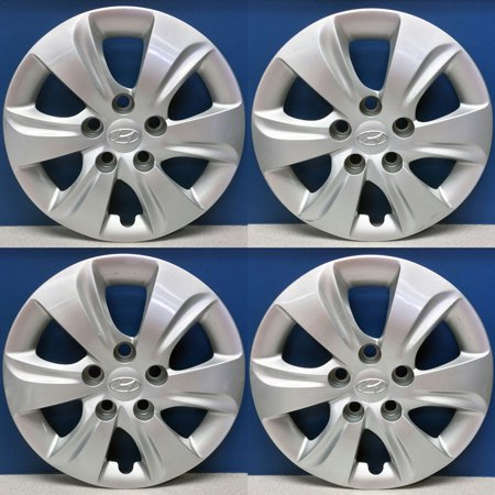 "OEM Genuine Parts 15"" Wheel Cover Silver 5hole 4p for HYUNDAI 11 - 16 Elantra MD"