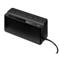 APC UPS, 600VA UPS Battery Backup & Surge Protector with USB Charging Port, Uninterruptible Power Supply, Back-UPS Series (BE600M1)