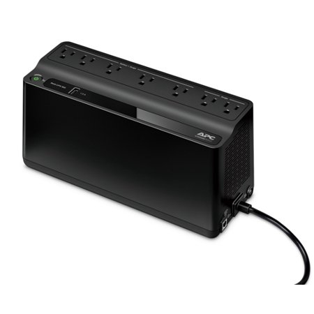 APC Back-UPS 600VA UPS Battery Backup & Surge Protector with USB Charging Port