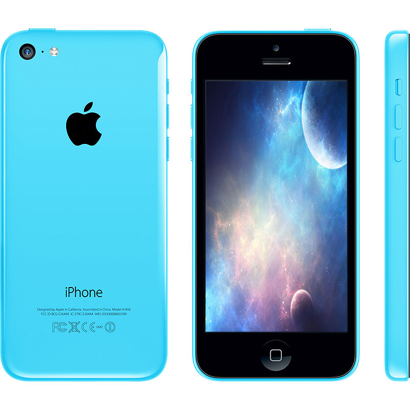 refurbished iphone verizon refurbished apple iphone 5c 16gb blue verizon walmart 7161