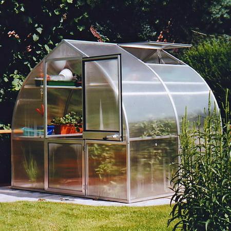 Riga Greenhouse - Hoklartherm RIGA IIS 7.6 x 7-Foot Greenhouse