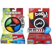 Simon Micro Series Game + Bop It Micro Series Game – Bundle of 2 Games