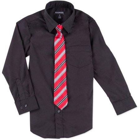 George Boys Packaged Dress Shirt Tie