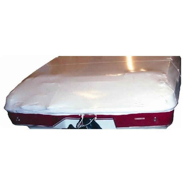Dr.  Shrink TSC-1051 Semi-Fit Sewn Cover - 16 ft.  - 18 ft.  V-Hull Boat