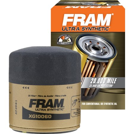 FRAM Ultra Synthetic Oil Filter, XG10060