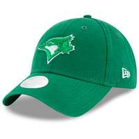 Toronto Blue Jays New Era Women's Core Classic Twill St. Patrick's Day 9TWENTY Adjustable Hat - Green - OSFA