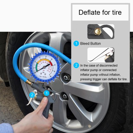 Ejoyous 0 220psi Car Truck Motorcycle Tyre Tire Air Pressure
