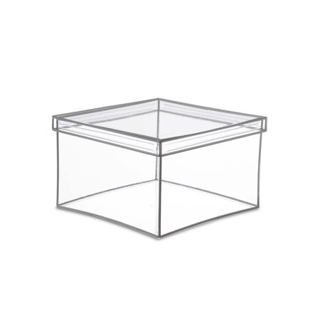 - Design Ideas Clear Vinyl Lookers Box, Extra Large Square