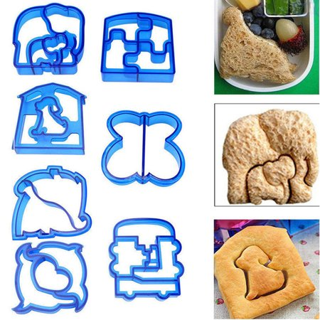 1/10pcs Animal Pals Shaped Cookie Cutter Set Sandwich Toast Cookies Cutters Cake Bread Biscuit Food Mold Mould](Halloween Food Ideas Sandwiches)