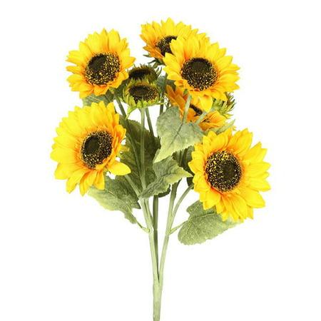 Sunflower X9-Yellow Floral - Sunflower Bush