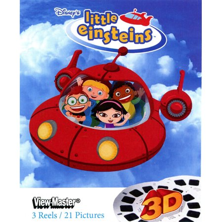 Little Einsteins - Classic ViewMaster - 3 Reel Set - 21 3D Images