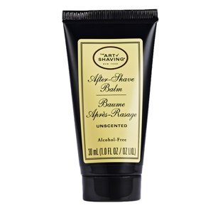 The art of shaving after shave balm, unscented, 1 oz