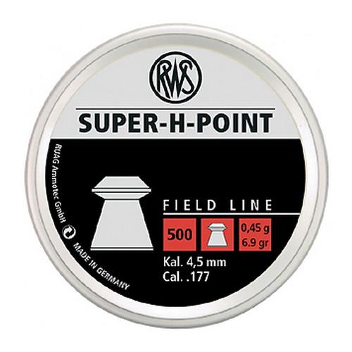 RWS SUPER-H POINT PELLETS .177 PELLET LEAD 500