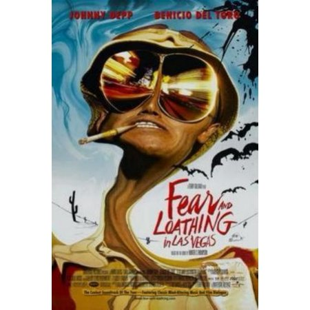 Fear And Loathing In Las Vegas Movie Poster 11x17 Mini Poster](Flashing In Las Vegas)