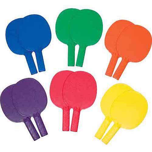 1-Piece Table Tennis Paddles Prism Pack