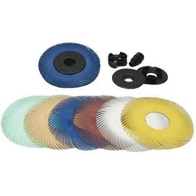 SCOTCH-BRITE 61500151479 Radial Bristle Brush,T-A,6 Diax1/2 W,80G
