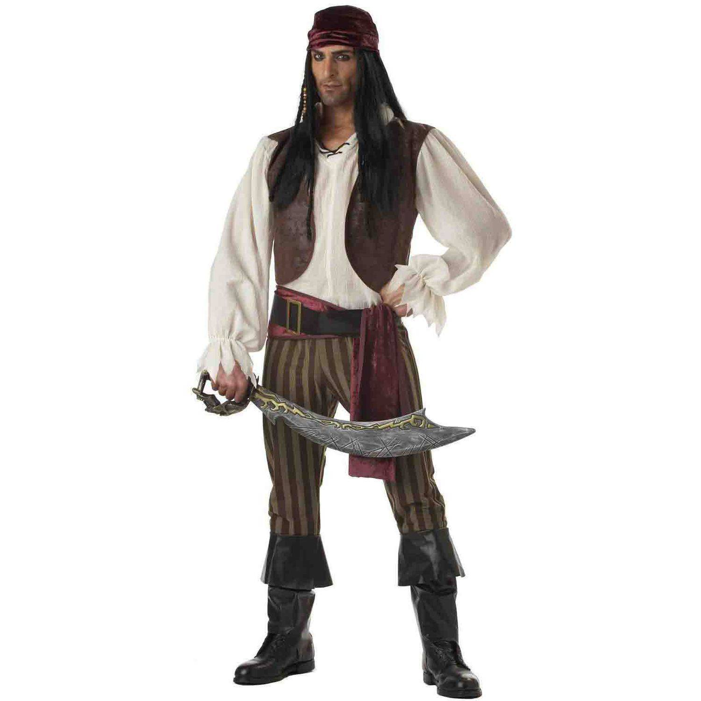 Rogue Pirate Men's Adult Halloween Costume