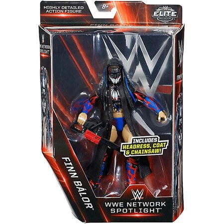 WWE Wrestling Network Spotlight Finn Balor Action Figure [Headress, Coat & Chainsaw] - Apache Headress