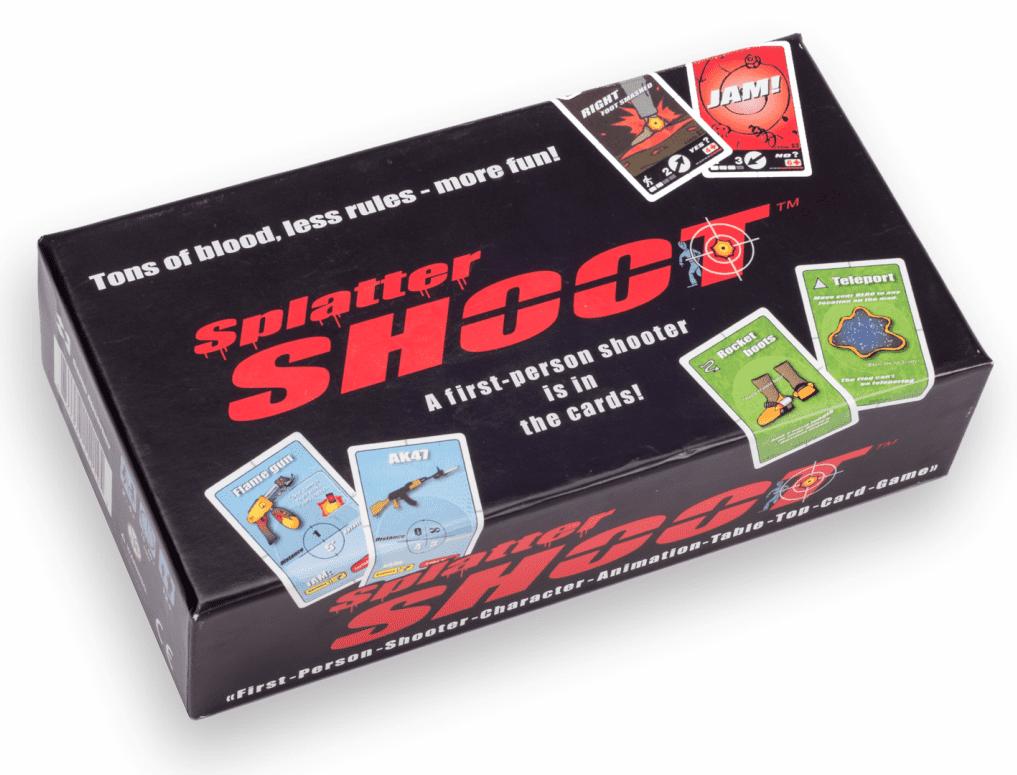 Splatter SHOOT Board Game Exclusively Sold on Walmart.com by Splatter Shoot