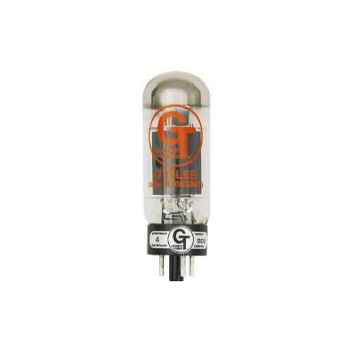 Groove Tubes Gold Series GT-6L6-S Matched Power Tubes Medium (4-7 GT Rating) Duet by Groove Tubes